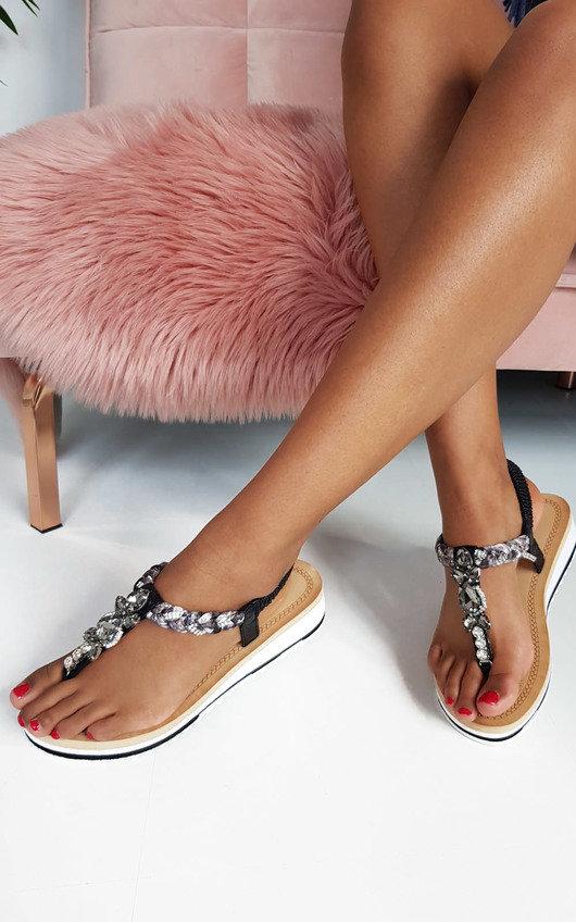 d1999d5fb45 Lolita Jewelled T-Bar Sandals at ikrush