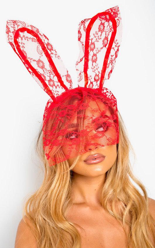 Lottie Lace Bunny Ears Headband