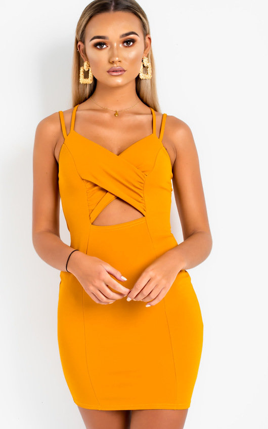 8968e4e523d68 Louise Cut Out Mini Bodycon Dress. HOVER ITEM TO ZOOM