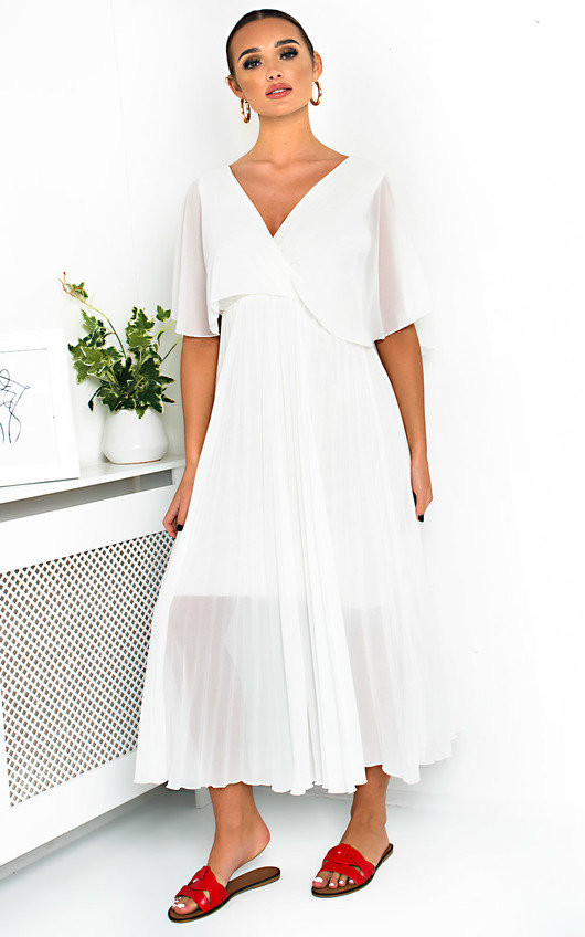 79a949abc07 Michaela Pleated Maxi Dress. HOVER ITEM TO ZOOM