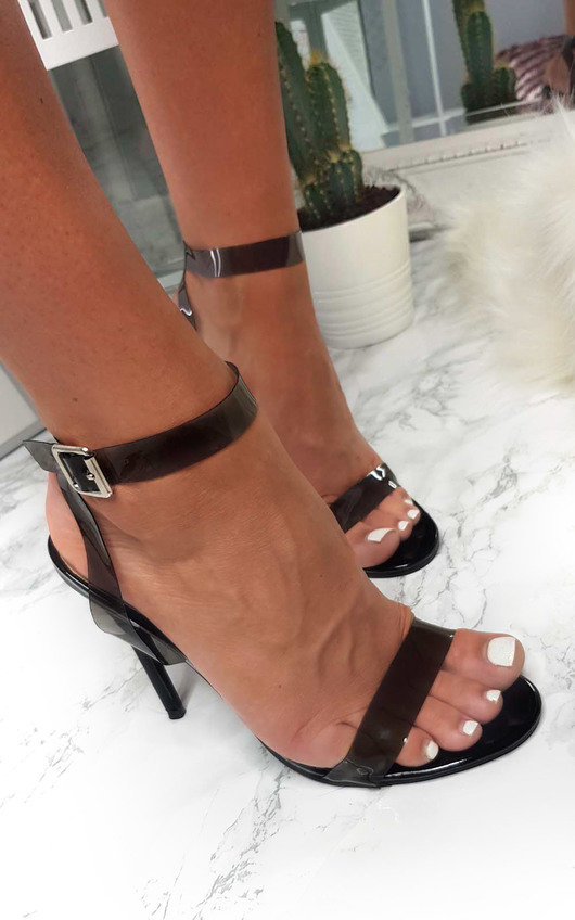 bd83b51d94218e Myla Perspex Barely There Heels at ikrush