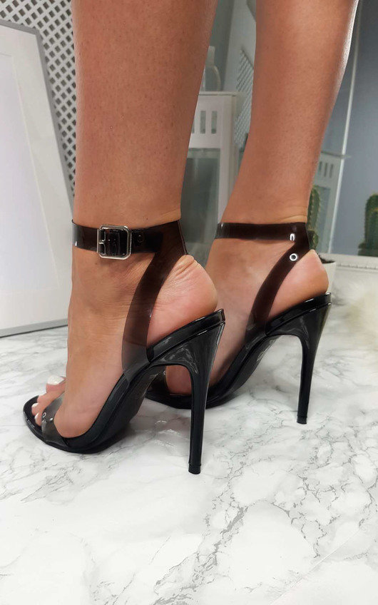 9d47eb19657831 Myla Perspex Barely There Heels Thumbnail