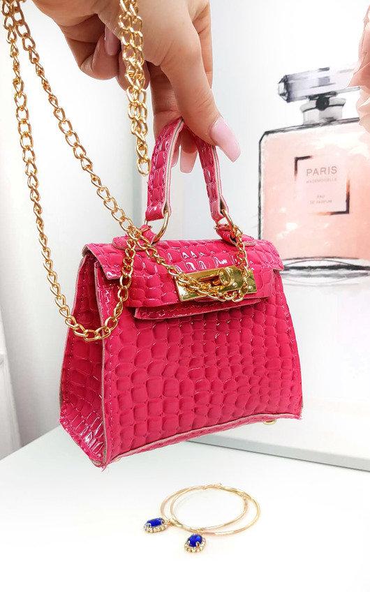 Nelly Micro Mini Bag in Pink  cb7c4e2eb2889