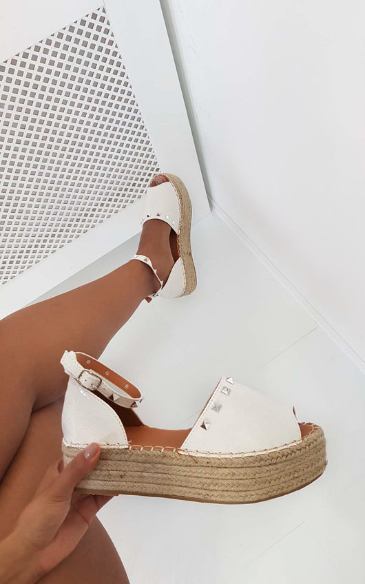 white espadrille sandals buy clothes