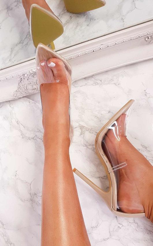 perspex heels court authentic 5da98 4217f