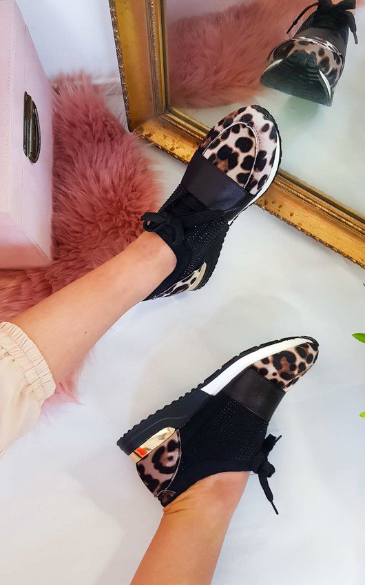 5d639337eec Roxy Faux Suede Embellished Trainers at ikrush