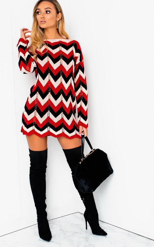 9660c4d55d2 Serena Knitted Jumper Dress