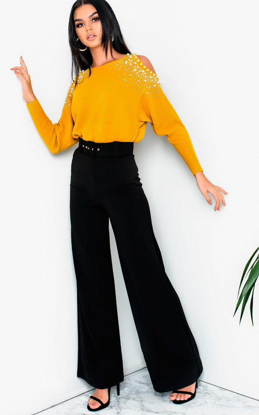 078c3a3262da Tabby High Waist Belted Wide Leg Trousers. HOVER ITEM TO ZOOM