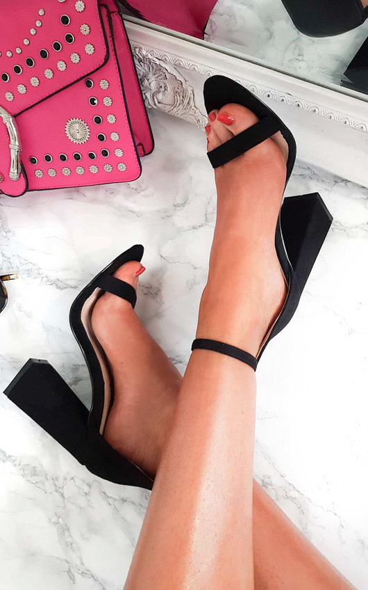 91e01560a1f Tessie Barely There Block Heels. HOVER ITEM TO ZOOM