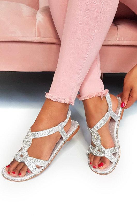 Sandals Willow Sandals Willow Diamante Embellished Willow Embellished Embellished Sandals Diamante Diamante eWEdCrBoxQ