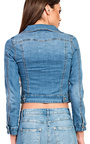 Melodie Crop Denim Jacket  Thumbnail