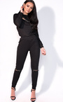 Erin Slim Fit Zip Tracksuit Thumbnail