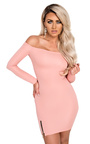 Kellen Off Shoulder Bodycon Dress Thumbnail