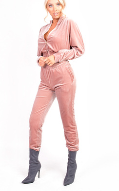 View the Paris Velour Tracksuit online at iKrush