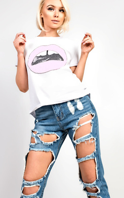 View the Tillie White Lip Top online at iKrush