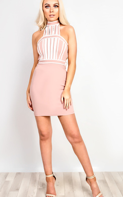 View the Anicka Bodycon Dress online at iKrush