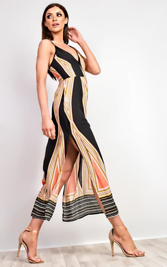 View the Jocelyn Pattern Maxi Dress online at iKrush