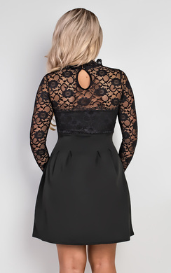 View the Anyelle Lace Skater Dress online at iKrush