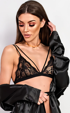 View the Eliza Lace Bralet  online at iKrush