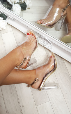 View the Koko Clear High Heels online at iKrush