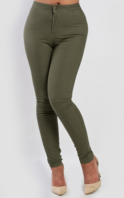 View the Emmy High Waist Jeans online at iKrush
