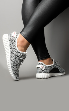 View the Yeez Platform Textured Trainers online at iKrush