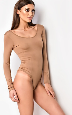 View the Shayla Scoop Basic Bodysuit online at iKrush