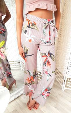 View the Kylie Floral Trousers online at iKrush