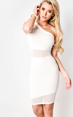 View the Everly One Shoulder Dress online at iKrush