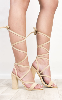 View the Veera Strappy Block Heels  online at iKrush