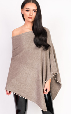 View the Tina Beaded Poncho  online at iKrush