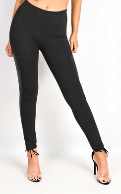 View the Veritee PU Side Panel Leggings online at iKrush