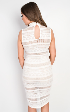 View the Teegan Bodycon Dress online at iKrush
