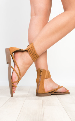 View the Ziba Strappy Sandals online at iKrush