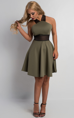 View the Lucette Skater Dress online at iKrush