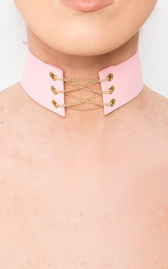 View the Kris Corset Choker  online at iKrush