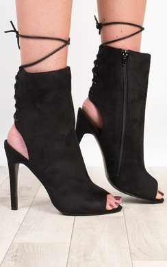 View the Roslyn Peep Toe Heels  online at iKrush