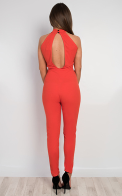 View the Evie Lace Detail Jumpsuit online at iKrush