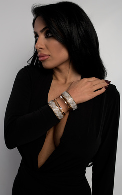 View the Nora Diamante Cuff online at iKrush