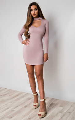 View the Juniper V Neck Bodycon Dress online at iKrush
