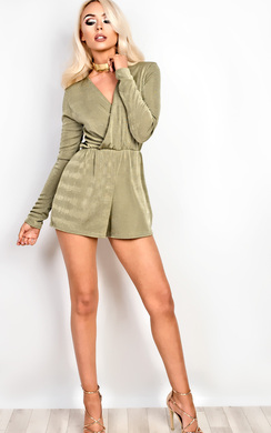 View the Jayne Deep Plunge Playsuit  online at iKrush