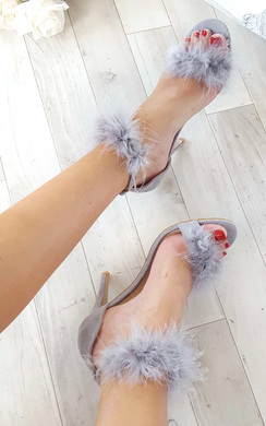 View the Kirsten Fluffy High Heels  online at iKrush
