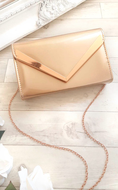 View the Milla Patent Envelope Clutch Bag online at iKrush