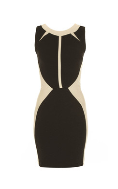 View the Bianca Monochrome Textured Dress online at iKrush