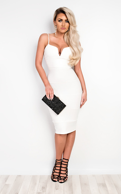 View the Brynna Bandage Bodycon Dress online at iKrush