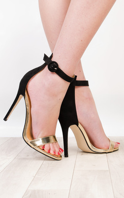 View the Hope Metallic High Heels online at iKrush