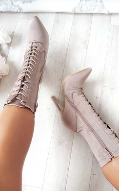 View the Kimmay Lace up Ankle Boots online at iKrush