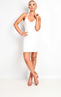 View the Bella Multi Strap Dress online at iKrush