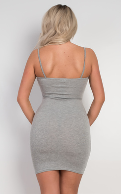 View the Emily Basic Mini Dress online at iKrush
