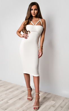 View the Hartley Strappy Bodycon Dress online at iKrush